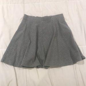 Trendy grey Skater Skirt